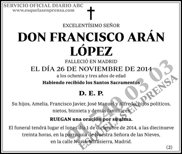Francisco Arán López